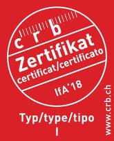 ifa18 Zertifikat